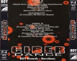 Ciber Dance 1995 Boy Records