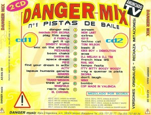 Danger Mix 1995 Danger Music