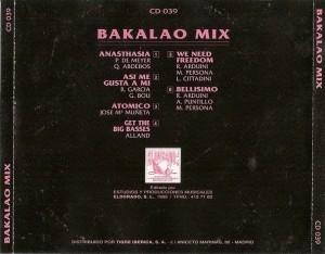 Bakalao Mix 1995 Estudios Y Producciones Musicales Eldorado