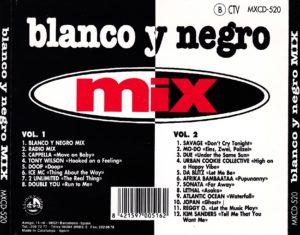 Blanco Y Negro Mix 1994 Blanco Y Negro Music