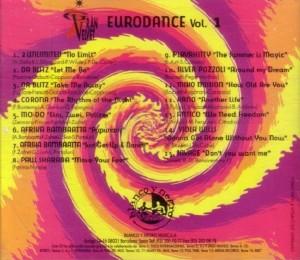 Gran Velvet - Eurodance Vol. 1 1995 Blanco Y Negro