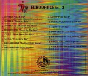 Gran Velvet - Eurodance Vol. 2 1995 Blanco Y Negro