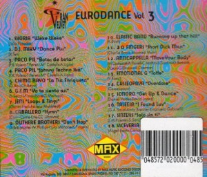 Gran Velvet - Eurodance Vol. 3 1995 Max Music