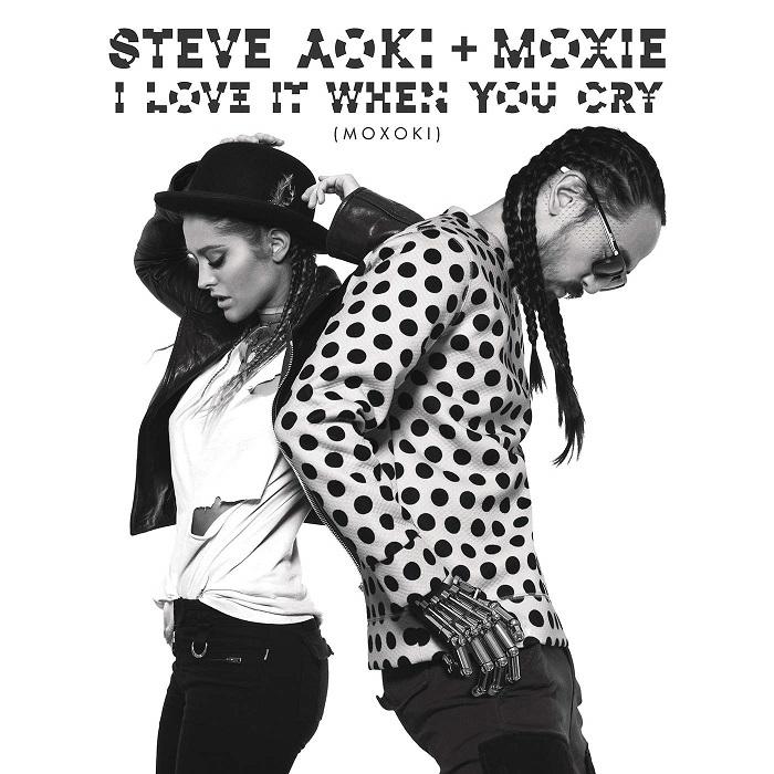 Steve Aoki And Moxie Raia – I Love It When You Cry [Moxoki]