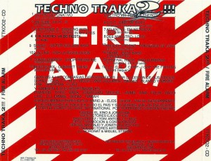Techno Traka 2!!! 1994 Area International Blanco Y Negro