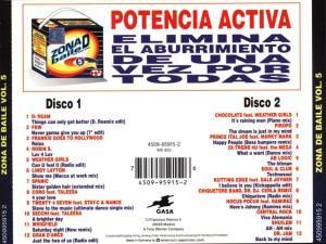 Zona De Baile 5 1994 Gasa Warner
