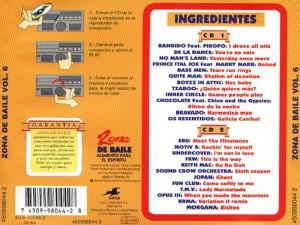 Zona De Baile 6 1994 Gasa Warner Music