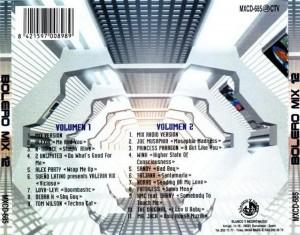 Bolero Mix 12 1995 Blanco Y Negro