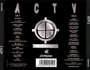 ACTV En Directo 2 1995 Contraseña Records