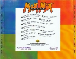 Max Mix Space Fidelity Collection 1 Max Music 1996