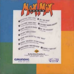 Max Mix Space Fidelity Collection 2 Max Music 1996