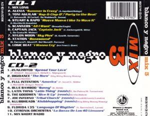 Blanco Y Negro Mix 3 1996 Blanco Y Negro Music