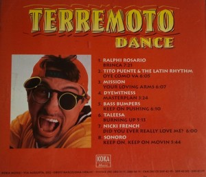 Terremoto Dance 1995 Koka Music