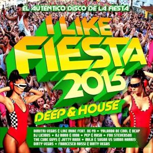 I Like Fiesta 2015 - Deep And House Blanco Y Negro