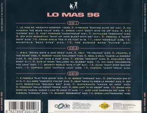 Lo Mas 96 Code Music Max Music 1996