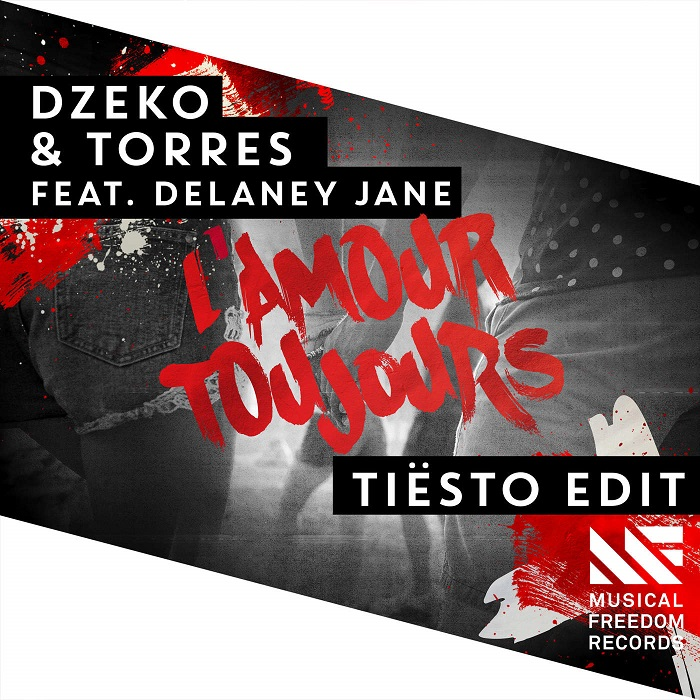 Dzeko And Torres Feat. Delaney Jane – L'Amour Toujours