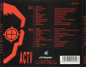 ACTV For Ever 1996 Contraseña Records