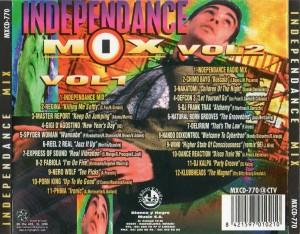 Independance Mix 1996 Blanco Y Negro