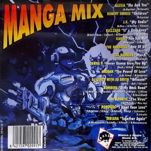 Manga Mix 1996 Blanco Y Negro