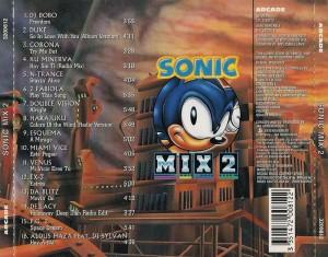 Sonic Mix 2 Arcade 1995