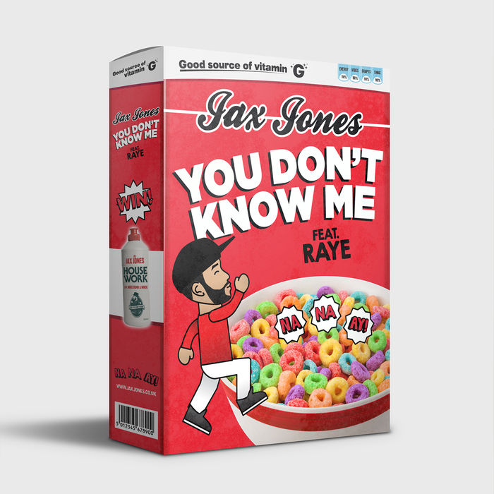 Jax Jones Feat. Raye – You Don't Know Me