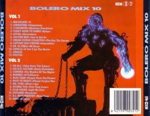 Bolero Mix 10 Blanco Y Negro 1994