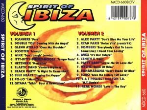 Spirit Of Ibiza 1995 Blanco Y Negro
