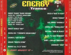 Energy Trance 1995 Barcelona Urban Sound - Metropol Records.