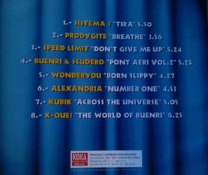 Directo Al Cerebro 3 1996 Koka Music