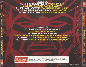Combate Mortal Mix 1995 Koka Music