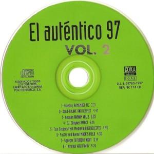 El Auténtico 97 Vol. 2 Koka Music 1997