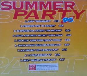 Summer Party 96 Koka Music 1996