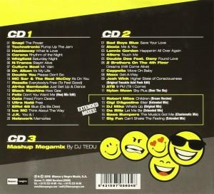 Disco 90 2015 Blanco Y Negro DJ Tedu