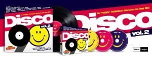 Disco 90 Vol. 2 2018 Blanco Y Negro DJ Tedu