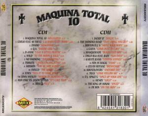 Maquina Total 10 Max Music 1997