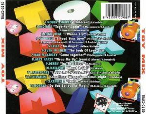 Toy Mix 1996 Tralla Blanco Y Negro
