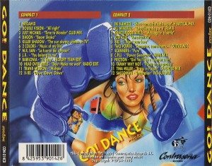 Go! Dance Mix 1995 Contraseña Records