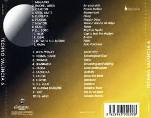 Techno Valencia 6 Contraseña Records 1996
