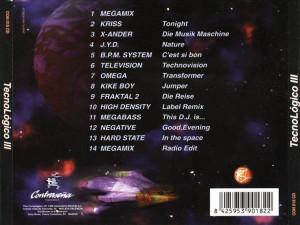 Tecnológico Vol. 3 Ram-J 1996 Contraseña Records