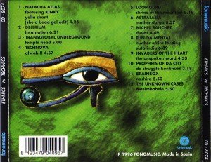 Ethnics VS Technics 1994 Fonomusic