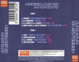 Generation Dance 99 Koka Music 1998