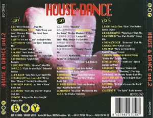 House And Dance Vol. 2 1998 Boy Records