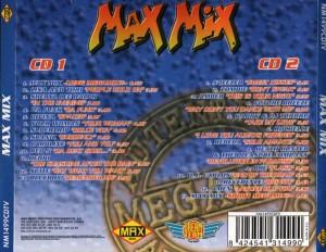 Max Mix (El Auténtico MegaMix) 1997 Max Music Dream Team Quique Tejada Toni Peret Jose Maria Castells