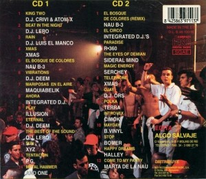 NAU B-3 En Session 1997 DJ Crivi Boy Records Algo Salvaje