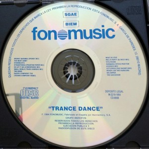 Trance Dance 1994 Fonomusic