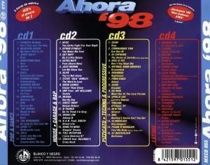 Ahora 98 Blanco Y Negro 1998 Quim Quer