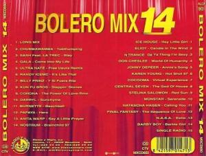 Bolero Mix 14 Blanco Y Negro 1997