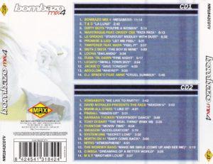 Bombazo Mix 4 Max Music 1998 Mike Platinas