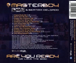 Masterboy And Beatrix Delgado - Are You Ready [We Love The 90's]