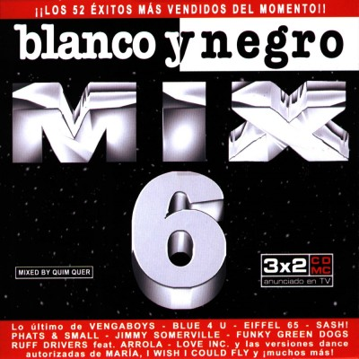 Blanco Y Negro Mix 6